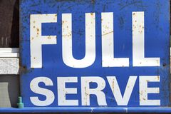 Complete service Royalty Free Stock Photo