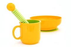 Complete set of children's ware Royalty Free Stock Photo