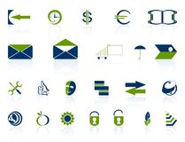 Complete set of icons. Stock Image