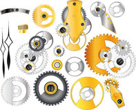 The complete set mechanisms Royalty Free Stock Image