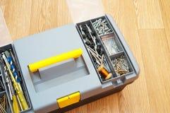 Complete set of tools handyman Stock Photo
