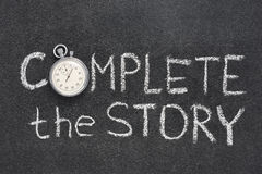 Complete the story Royalty Free Stock Photo