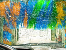 Carwash Royalty Free Stock Images