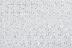 Completed blank jigsaw puzzle Stock Images