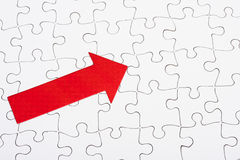 Completed Puzzle Royalty Free Stock Photography