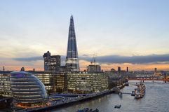 The completed Shard Building Stock Images