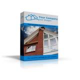 Completi il pacchetto per le case Fotografie Stock