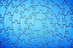 Completi il puzzle grandangolare nei colori infrarossi Immagine Stock