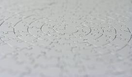 Completi il puzzle grigio Immagine Stock Libera da Diritti