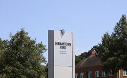 Germantown Park Office Community Stock Photo
