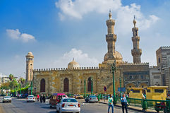 The complex of Al Azhar Mosque Royalty Free Stock Photos