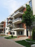 Complex of apartments Stock Images