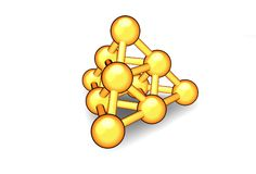 Complex atom Stock Photos