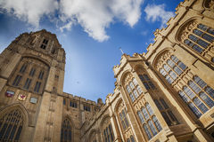Complex building of Bristol university Stock Photos