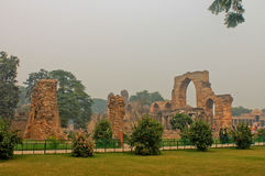 A complex of buildings, Qutb Minar. Delhi Royalty Free Stock Photography