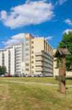 The complex of buildings of  Spa Resort Medical Egle sanatorium Royalty Free Stock Photo