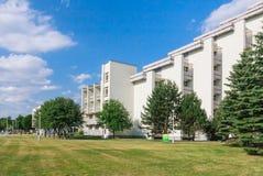 The complex of buildings of the Spa Resort Medical Egle sanatorium  Druskininkai Royalty Free Stock Photos