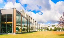 The complex of buildings of the Spa Resort Medical sanatorium.  Druskininkai. Stock Photos
