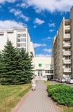 The complex of buildings of the Spa Resort Medical sanatorium.  Druskininkai. Stock Photo