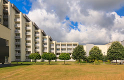 The complex of buildings of the Spa Resort Medical sanatorium.  Druskininkai Stock Photography