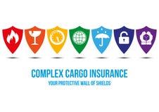 Complex cargo insurance design concept Stock Photo