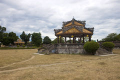 Complex of a Citadel in Hue Stock Images