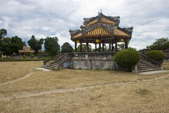 Complex of a Citadel in Hue. Vietnam. Citadel in Hue is enlisted in UNESCO's World Heritage Sites royalty free stock images