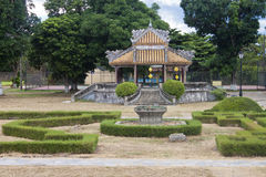 Complex of a Citadel in Hue Stock Image