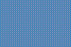 Complex emotions. Pattern for textile and other uses in a combination of light and dark blue Royalty Free Stock Image
