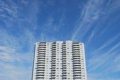 Complex Flatgebouw Stock Afbeelding