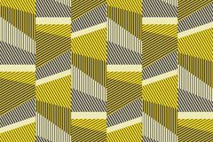 Complex geometric stripes seamless pattern. royalty free illustration