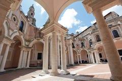 Complex of the Good Shepherd in Rome stock photos