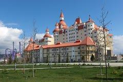 Complex hotel Royalty-vrije Stock Fotografie