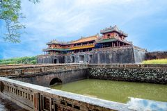 Complex of Hue Monuments in Hue, Vietnam. Complex of Hue Monuments in Hue, Vietnam royalty free stock photos