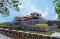 Complex of Hue Monuments in Hue, Vietnam. royalty free stock photos