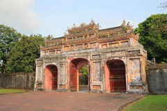 The Complex of Hue Monuments in Vietnam. The Complex of Hue Monuments is located in and around Hue City in Thua Thien-Hue Province in the geographical centre of royalty free stock photography