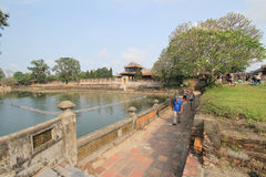 The Complex of Hue Monuments in Vietnam Stock Image