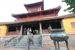 The Complex of Hue Monuments in Vietnam Stock Images