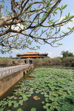 The Complex of Hue Monuments in Vietnam Stock Photo