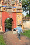 The Complex of Hue Monuments in Vietnam Stock Photography