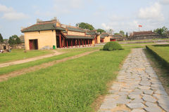 Complex of Hue Monuments in Vietnam Royalty Free Stock Photo