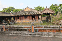 Complex of Hue Monuments in Vietnam Royalty Free Stock Photography