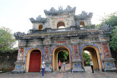 Complex of Hue Monuments in Vietnam Stock Photos