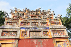 Complex of Hue Monuments in Vietnam Stock Image