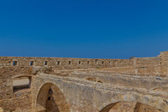 The Complex of Magazines in Fortezza of Rethymno. Stock Photos