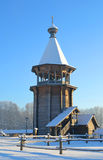 The complex Manor Bogoslovka at sunny winter day. Royalty Free Stock Photos