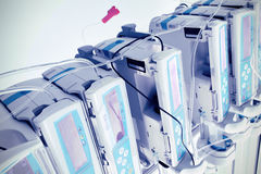 Complex of medical equipment. At work Royalty Free Stock Photography