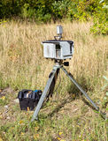 Complex mobile speed camera Stock Images