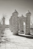 Complex of monuments. Royalty Free Stock Image