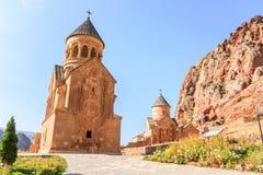 Complex of Noravank Monastery Stock Photo